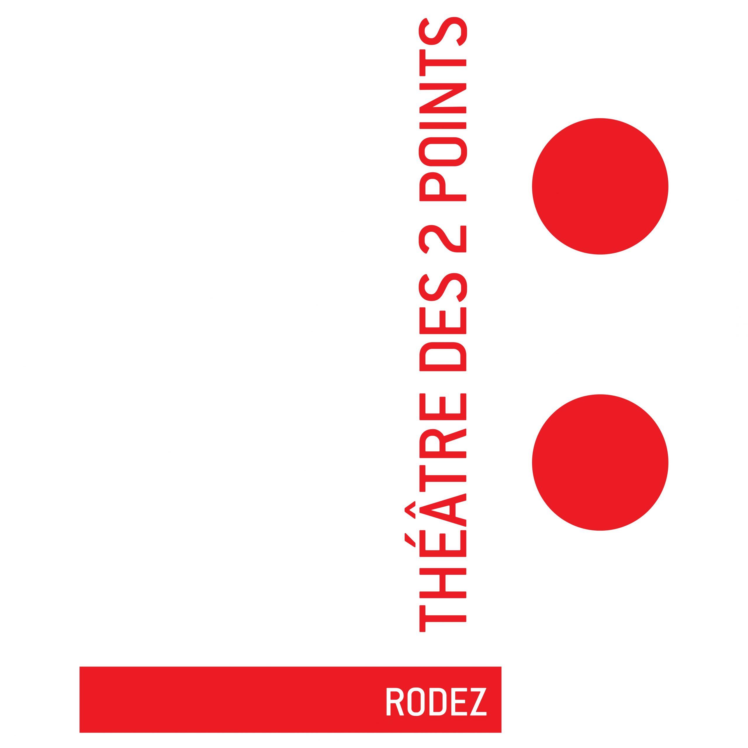 Logo Théâtre des 2 points Rodez